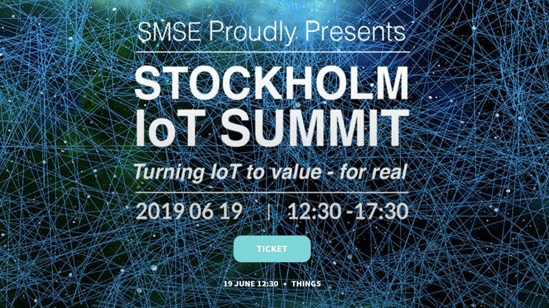 Attentec medverkar i STHLM IoT Summit 2019
