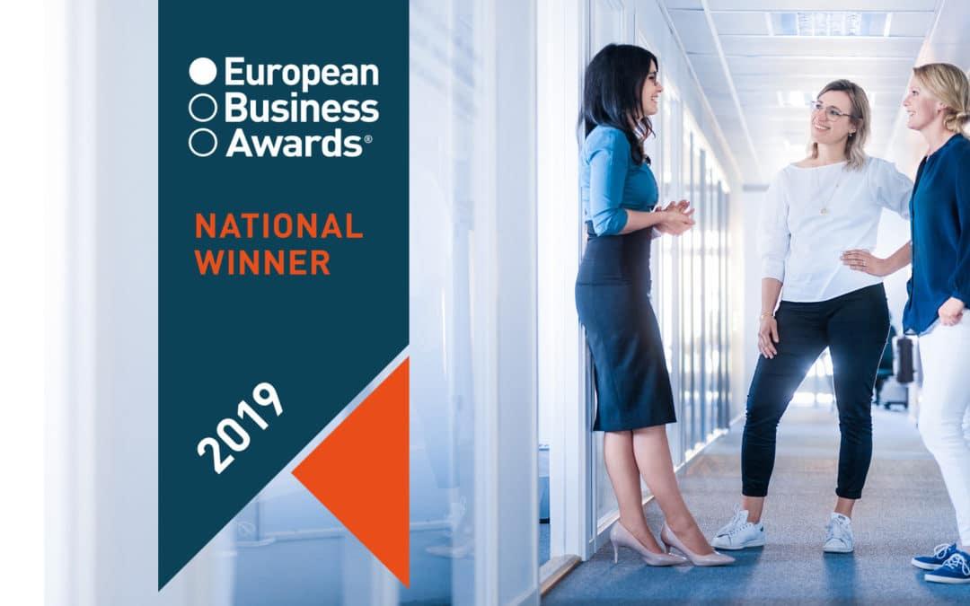 Attentec AB utsett till nationell vinnare i European Business Awards 2019 och går till finalen.