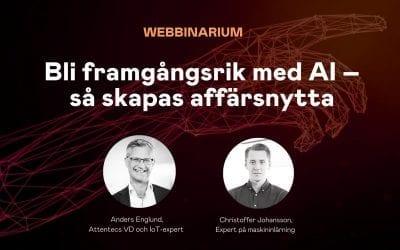 Webbinarium (23/04): Bli framgångsrik med AI – så skapas affärsnytta